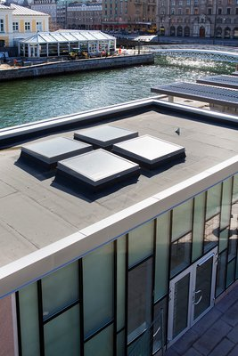 LAMILUX Flat Roof Window | Bagers Plats, Malmö