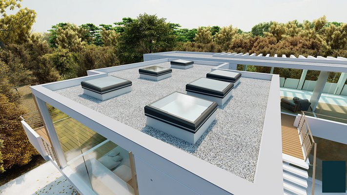 LAMILUX Glass Skylight FE 3° | Residential building