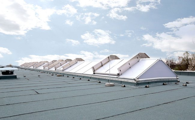 LAMILUX Continuous Rooflight S | Produktionshalle, Hermsdorf