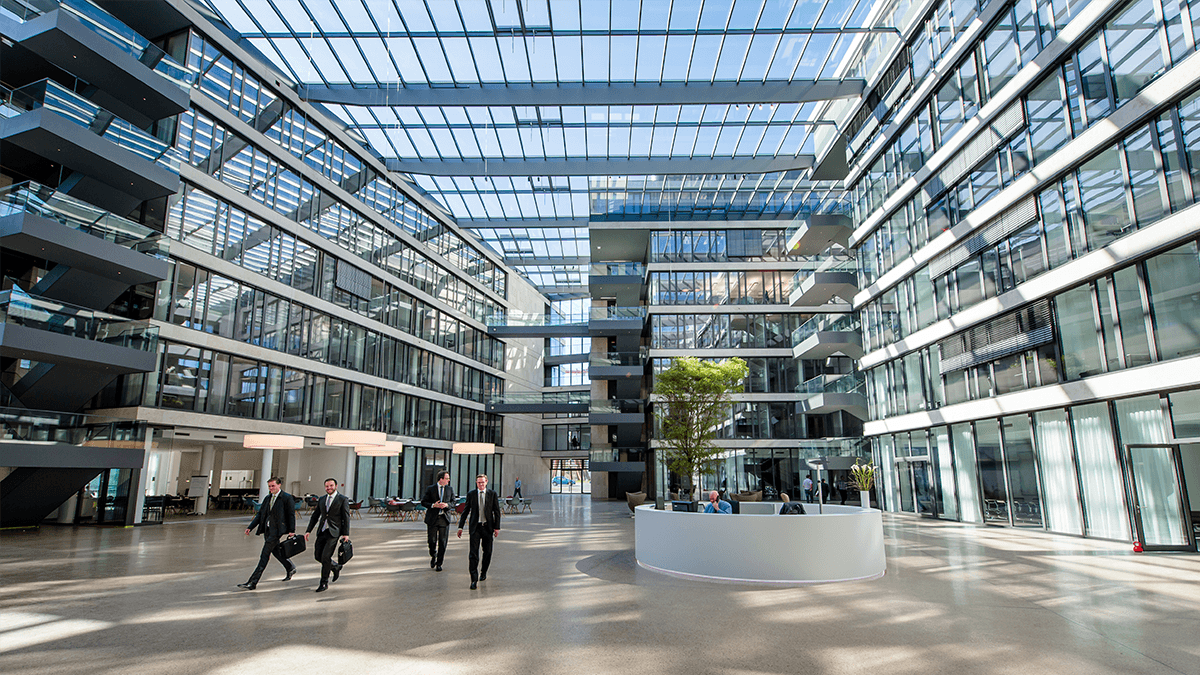 LAMILUX Glass Roof PR60 at the FGS Campus in Bonn (Germany)